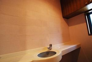 トイレの珪藻土塗り 施工例2